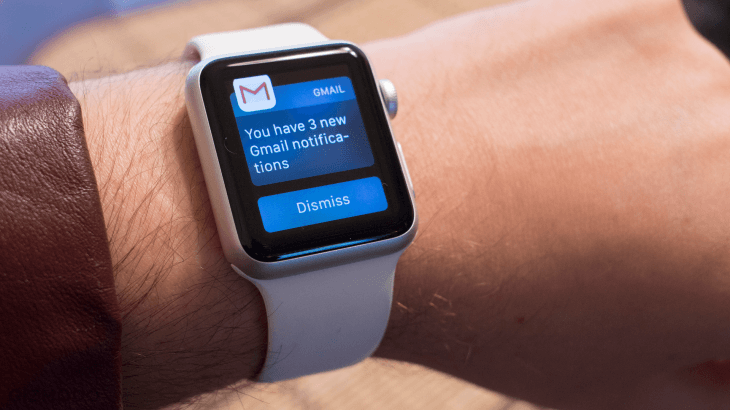 Gmail Notifications on Apple Watch